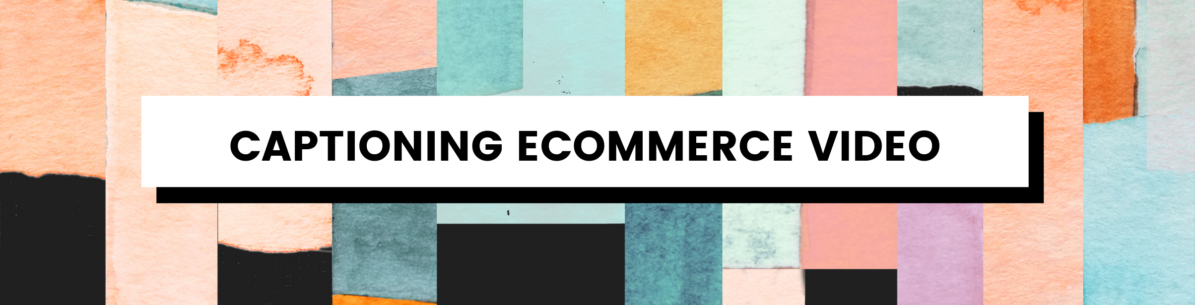 Captioning Ecommerce Video