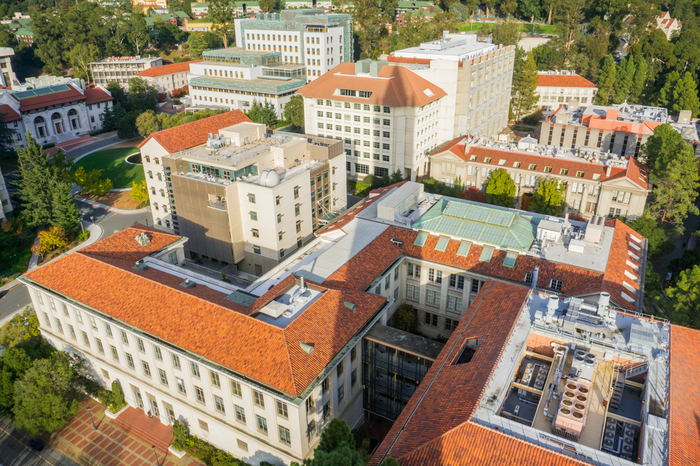 university of california view from the top